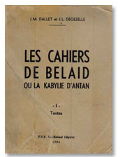 Les cahiers de Bélaïd At Aâli